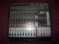BEHRINGER PMP3000 / PMP-3000 , 1200-Watt , 16-Channel Powered Mixer with FX Processor.