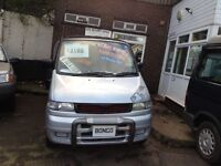 RARE MANUAL GEARBOX/ HI SPEC MAZDA BONGO/FREDA 2.5 TD 8 SEATER/DAY VAN/MPV/NEW MOT/LOW LEVEL ALARM