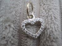 GENUINE Pandora Heart Pendant in Sterling Silver