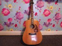 Epiphone steel string guitar