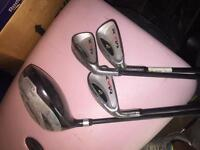 Dunlop junior golf clubs and bag