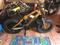 fat wheel mountain bike