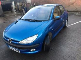 Peugeot 206 Se ,2004 ,1.4 patrol,for sale .