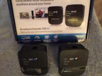 BT Internet range extender as new bargain Wifi Booster Plug & Play!