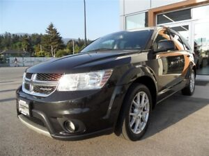 2012 Dodge Journey SXT & Crew / Leather / Sunroof / Alpine Sound
