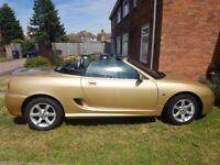 MG TF Excellent condition interior and exterior. MOT till may 2018 Drives really well.