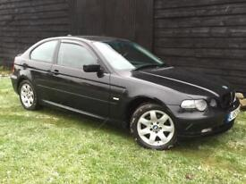 AUTOMATIC 2004 BMW COMPACT - 1 YEARS MOT