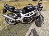 Suzuki SV 650 (restricted for A2 licence)
