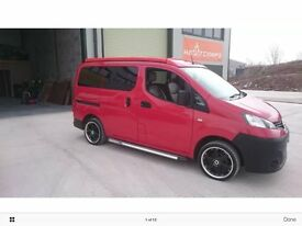 Nissan NV200 Day/Van Camper Car 4 berth