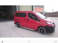 Nissan NV200 Day/Van Camper Car 4 berth
