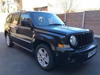 Jeep Patriot 2.0 CRD Limited Diesel 4WD 58reg 79k Miles
