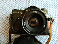 Zenit EM 35mm SLR Film Camera With Lens