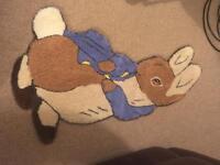 Peter Rabbit Rug