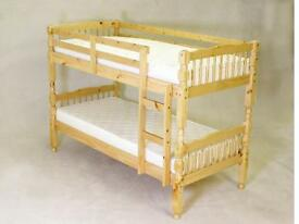 MILANO BUNK BED ANTIQUE PINE