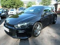 Volkswagen Scirocco 2.0 TSI R 3dr 2010 (10 reg), Coupe, BLACK, FULL VW SERVICE HISTORY, HPI CLEAR