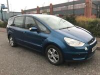 ***FORD S-MAX 1.8 TDCI 7 SEATER+FULL LEATHERS+ALLOYS+SERV HIST+MOT***£2970!