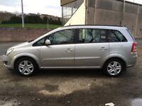 Vauxhall zafira 1.6 petrol FSH 7 seater 1 year mot