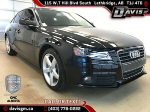 Used 2012 Audi A4-Low Mileage-Push Button Start, Heated Seats