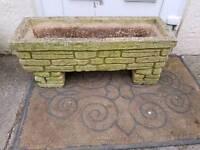 Sandford stone garden pot £20