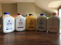Forever Aloe Vera Gel (5x 1litre bottles)