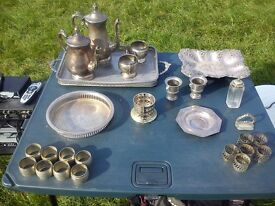Selection of Silver Plated Items