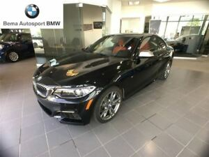 2016 BMW M235i Coupe Local Unit, Sask Taxes Paid, Gorgeous, Load
