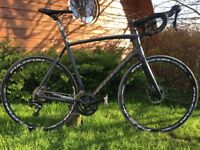Road bike ghost nivolet lc tour disc further reduced