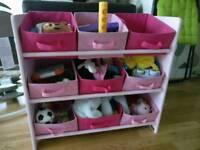 Kids Toys Shelving Unit