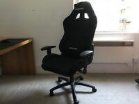 AK Racing Gaming Chair - Black