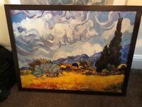 Framed Van Gogh Print - 66x86