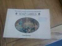 Vintage book Cameo collection of postcard books SOAP Labels