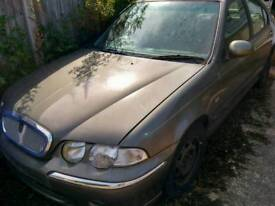 Mgtf rover 45 spares 1.6 k series engine