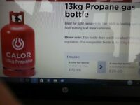 Propane Calor Gas Empty Bottle.Exchange For Any Size