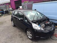 HONDA JAZZ DAMAGED SALVAGE BREAKING 2008 - 2014