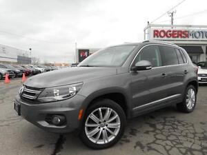 2012 Volkswagen Tiguan 2.0T AWD - NAVI - LEATHER - PANO ROOF