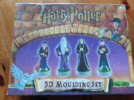 Harry Potter 3D Moulding Set 2001 rare