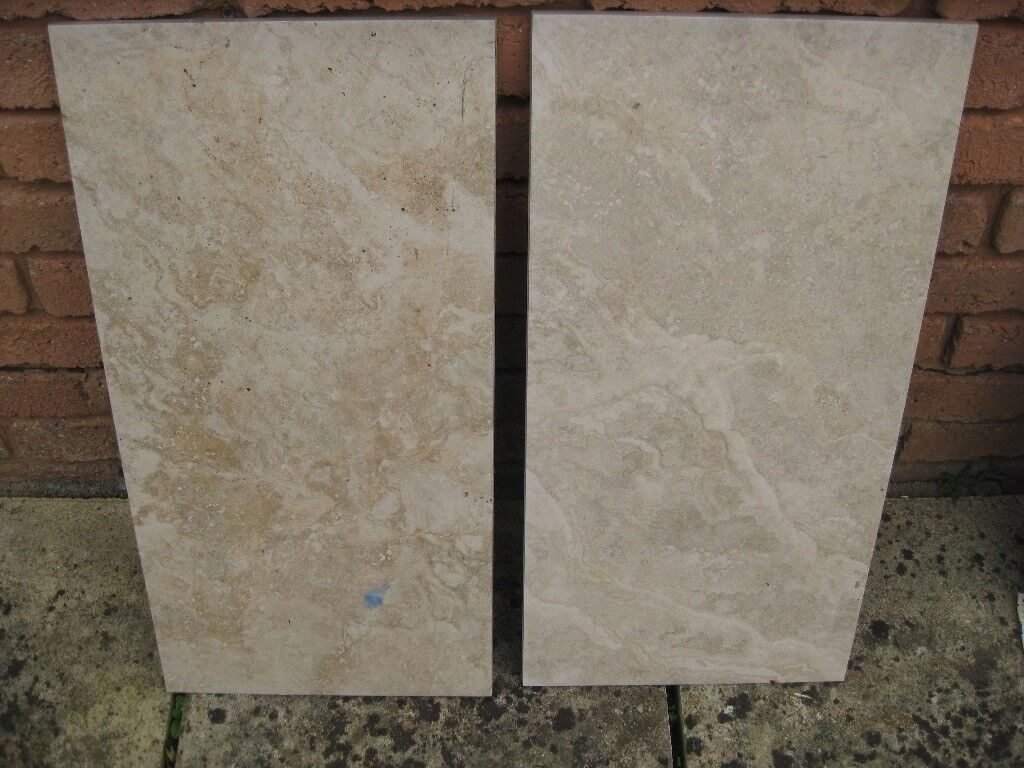 8 X Porcelain New Neutral Wall Tiles For Internal Walls