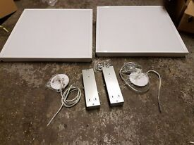 set of 2 brand new in box hyperikon led lamps(troffers)