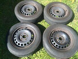 VW, ford, seat wheels R15/65/195