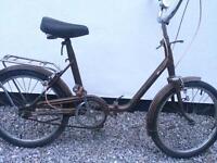 70's vintage folding bicyle