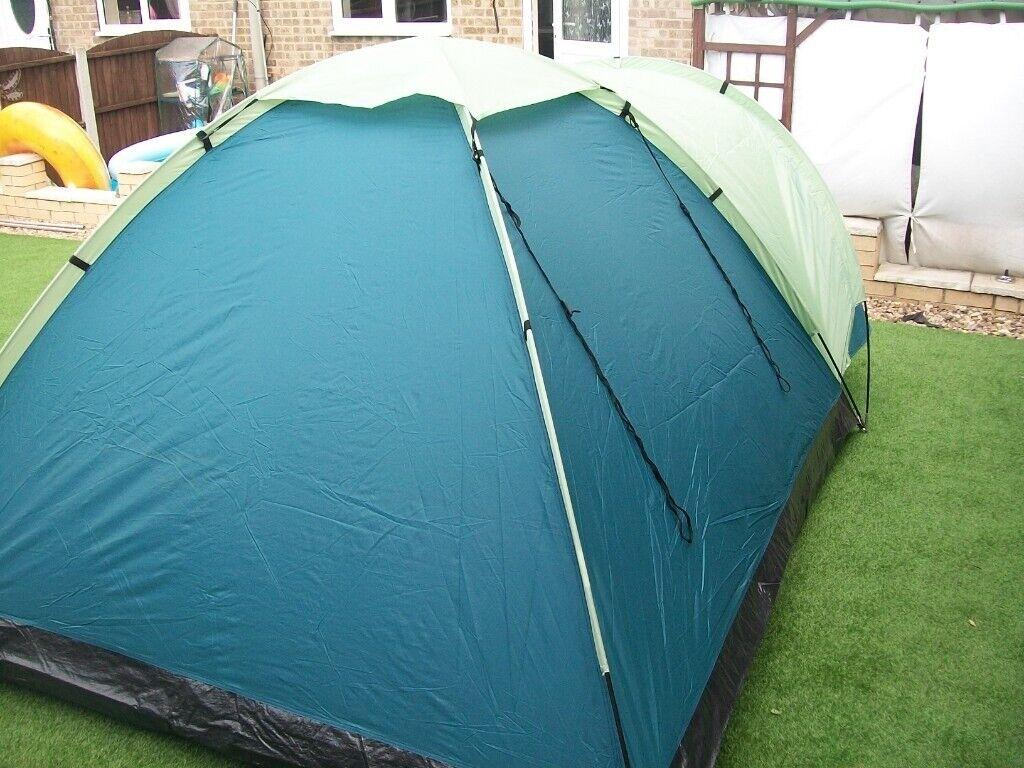 the latest bd117 cb152 Asda Eurofit 2 man 2 person camping tent exc cond small porch pegs bag  poles vgc   in Brimington, Derbyshire   Gumtree