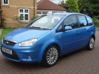 FORD C-MAX 1.8 TITANIUM TDCI 5d 116 BHP SERVICE RECORD ++ AIR CONDITIONING + 2 PREVIOUS KEEPERS