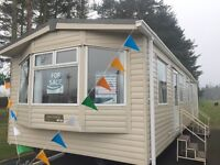 Family Holiday Caravan at Witton Castle, Co Durham. Carnaby Melrose.