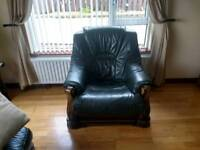 3x1x1 leather suite