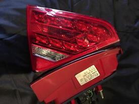 Audi A5 rear lights