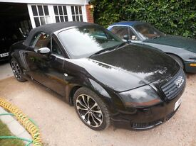Audi TT 2001. 225 Quattro. Convertible. Fully loaded. Pampered and spoilt. No expence spared. FSH.