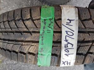 195/70/14 4 pneus Hivers Artic weathermate 11/32