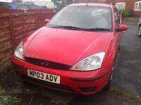 Ford focus studio 1.4 petrol