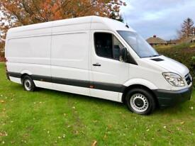 Mercedes Sprinter 311 CDI LWB / Hi-Roof / Very Low Miles / Fantastic Condition / Lady Owner