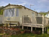 32 x 12ft 2 bed Static Caravan to let at Ladram Bay, Devon - 27th May for 1 week